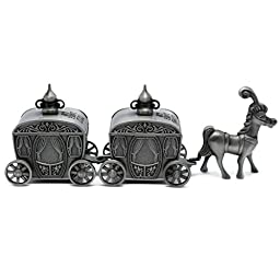 Naimo New Vintage Carriage Design My First Tooth and Curl Box Creative Gift Present