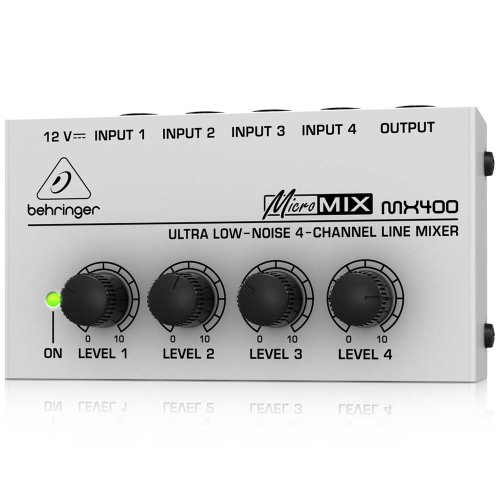Behringer Micromix Mx400 front-97171