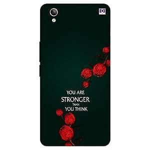 Stronger - Mobile Back Case Cover For Vivo Y 51L
