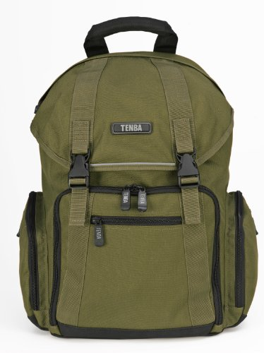Tenba 638-292 Messenger Backpack for Camera/Laptop - Olive