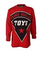 Frankie Morello Camiseta Manga Larga (Rojo)
