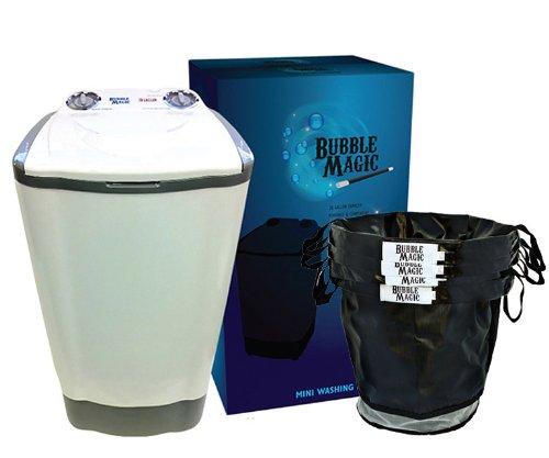 20 Gallon Bubble Magic Washing Machine + Bubble Magic Herbal Extraction 4 Bags Kit