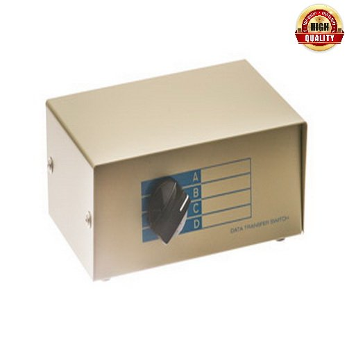 Netcna – 1 Pack X 4-Way RJ45 Manual Switch Box – High Quality
