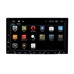 See New 7 Inch Capacitive Multi-Touch Screen Pure 2 Din Android 4.2 Car GPS stereo No DVD Radio Bluetooth Headunit video player A9 Dual-Core APPstore Details
