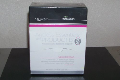 Isagenix Ageless Essentials Product B Plus Telomere Support For Women