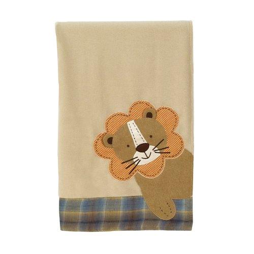 Sumersault Peek-A-Boo Blanket, Earth Tones - 1