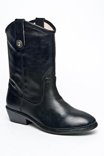 Frye Melissa Button 97450 Mid-Heel Boot