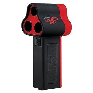 Laser Link Red Hot Golf Rangefinder With Red Hot Carrying Case 9909 Laserlink