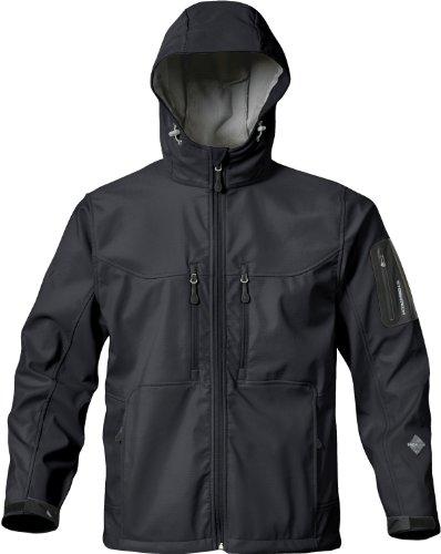 Stormtech ST060 Nylon Men's Epsilon H2Xtreme Shell Jacket, XX-Large, Black