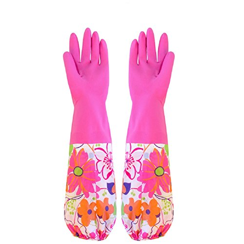 hangnuo-long-thermal-latex-gloves-reusable-waterproof-gloves-for-kitchen-washing-cleaning-pink