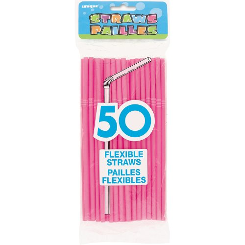 flexible-plastic-drinking-straws-hot-pink-50ct