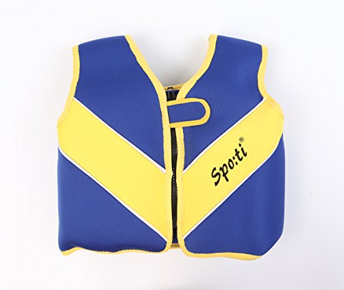 Titop Infant Life Jacket for Child for New Swimming Learner Protection Vest for Baby (Navy Bule, S 22-33lbs)