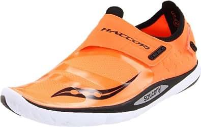 Saucony Men's Hattori Running Shoe,Vizipro/Black,8 M US