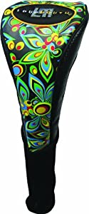 New Loudmouth Golf - Driver Headcover - Shagadelic Black by Winning Edge