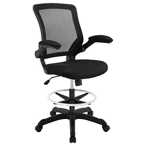 lexmod-veer-drafting-stool-black