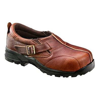 : Avenger Boots: Women's Brown Composite Toe EH Boot A7152-8W: Shoes