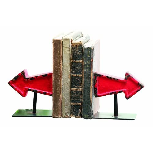 Creative Co-Op Cast Iron Arrow Bookends