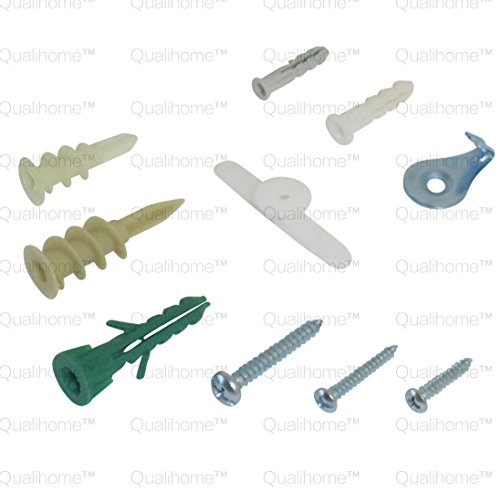 Anchors screws wall anchor hooks and hollow door toggle 112 pieces