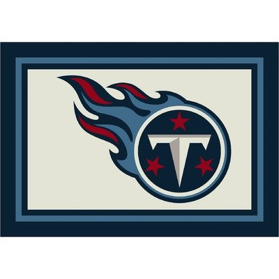 NFL Spirit Tennessee Titans Football Rug Size: 5'4