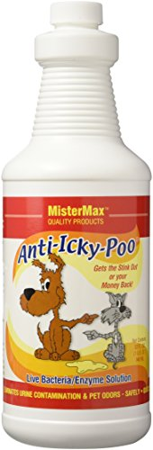Mister Max Original Scent Anti Icky Poo Odor Remover, Quart Size (Mister Max Icky Poo compare prices)