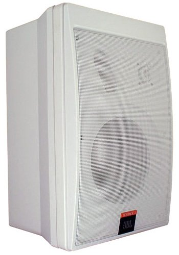 Jbl Control 5 Compact Monitor Loudspeaker 2 Way, 170 Watt 4 Ohm White- Priced And Sold As A Pair