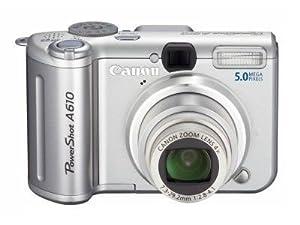 Canon PowerShot A610 Digitalkamera (5 Megapixel)