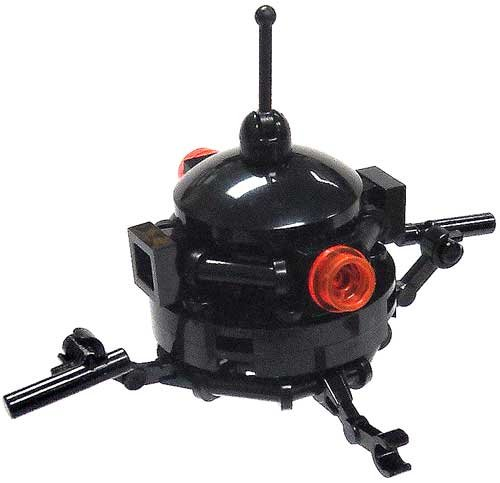 LEGO Star Wars Loose Imperial Probe Droid Minifigure [Probot Loose] (Lego Imperial Probe compare prices)