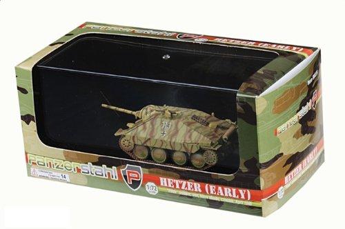 1:72 装甲車stahl ディスプレイ アーマー 88035 Skoda Sd.Kfz.138/2 Hetzer ディスプレイ モデル ドイツ軍 PzJgAbt 97 Czechoslovakia