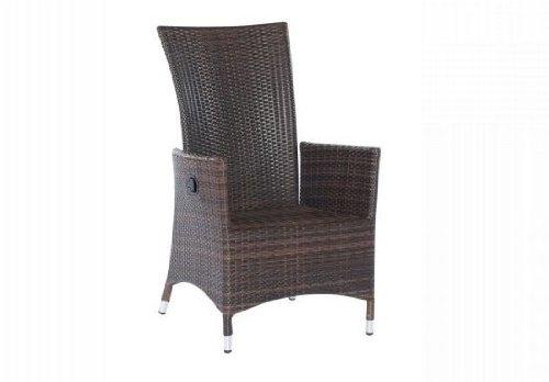 Sunny Smart Sessel Honduras choco Alu-Geflecht jetzt bestellen