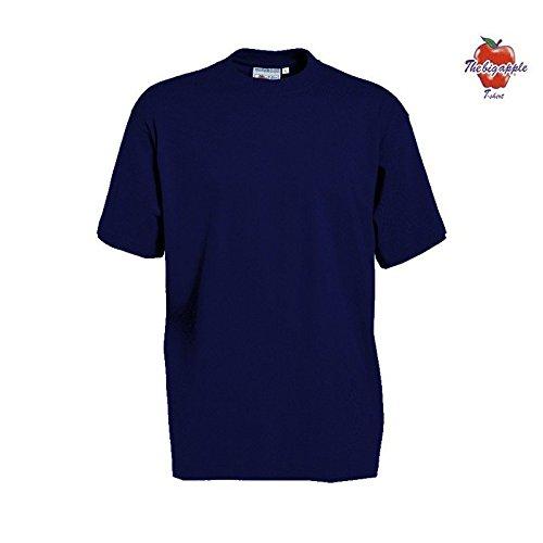 Set 5 Pezzi T-Shirt Maglietta The Big Apple 100 % Cotone - XL, Blu