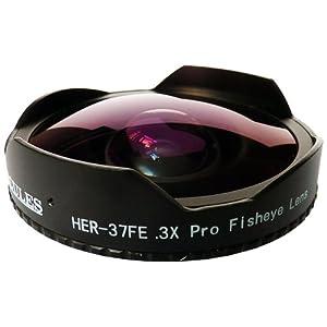 Hercules 37mm 0.3X Video Ultra Fisheye Lens for Camcorders