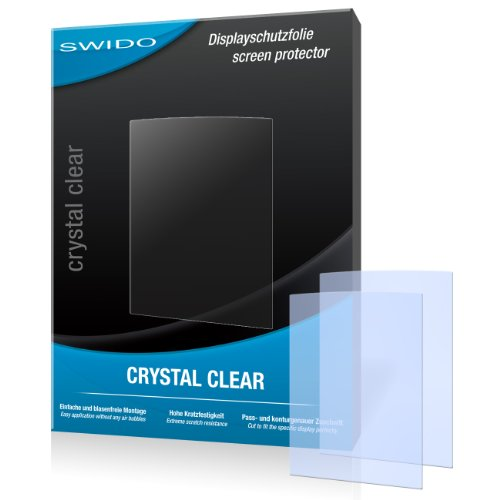 2 x SWIDO Crystal Clear Displayschutzfolie