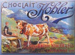 plaque-metal-20x15cm-pub-retro-chocolat-au-lait-suisse-kohler