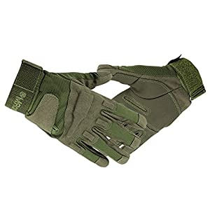 Continu® Military Full-finger Fingerless Tactical Airsoft Hunting Riding Cycling Gloves Size M L XL from Continu
