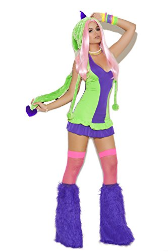 Sexy Women's Dino Doll Dinosaur Adult Roleplay Costume