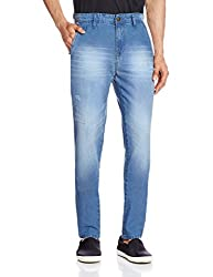 Cherokee Men's Tapered Fit Jeans (8907242994727_267695526_32W x 32L_Blue)