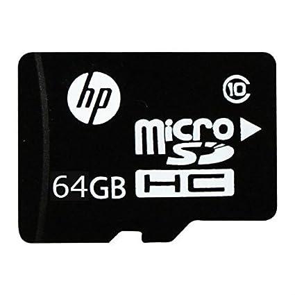 HP 64GB MicroSDHC Class 10 (90MB/s) Memory Card