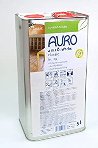AURO 2 in 1 ÖlWachs Classic  5L  BaumarktKundenbewertung und Beschreibung