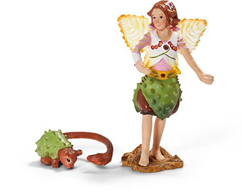 Schleich Chestnut Elf with Fellow - 1