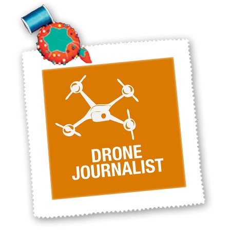 Qs_179921_3 Kike Calvo Drone And Unmanned Vehicle Collection - Orange Drone For Journalist And Photographer - Quilt Squares - 8X8 Inch Quilt Square