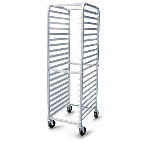1 pc NSF Commercial Kitchen 20 Tier Bun Pan Rack with 2 Brake Wheel (Kitchen)
