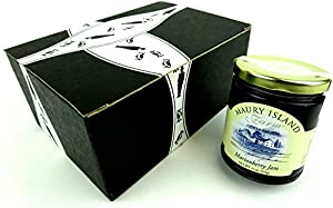 Maury Island Limited Harvest Marionberry Jam, 11 oz Jar in a Gift Box