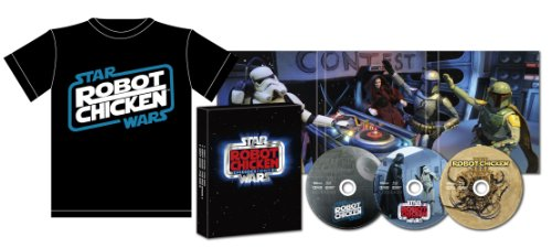 Amazon.co.jp Limited (With original T-shirt) Robot Chicken / Star Wars Blu-ray BOX [Blu-ray] (Amazon Jp Robot compare prices)