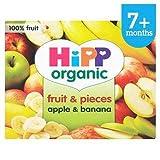 HiPP Organic Fruit & Pieces Apple & Banana 7+ Mths 4 x 100G