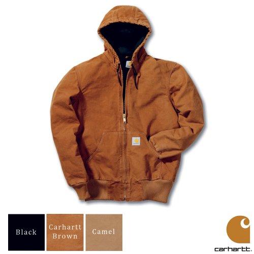 Carhartt Workwear Sandstone Active Mens Jacket Black Large
