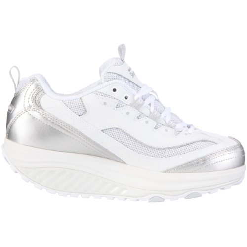 Skechers 12307 Shape-ups Rockin' Out, Women's Trainers - White, 41 EU