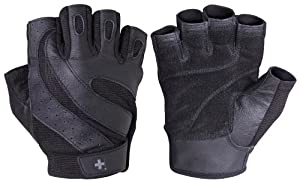 Harbinger Pro FlexClosure Wash & Dry Glove (Black, Medium)