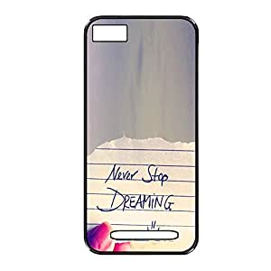 Vibhar printed case back cover for Xiaomi Mi 4i NeverDreaming