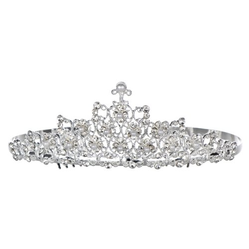 Comparable to Toddlers and Tiaras: June's Faux Pearl and Diamond Tiara