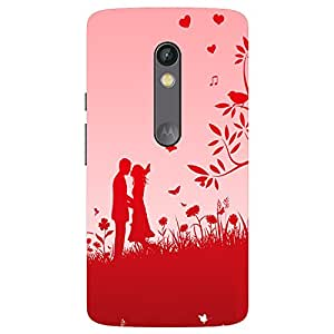 EpicShell Back Cover For Motorola Moto X Play